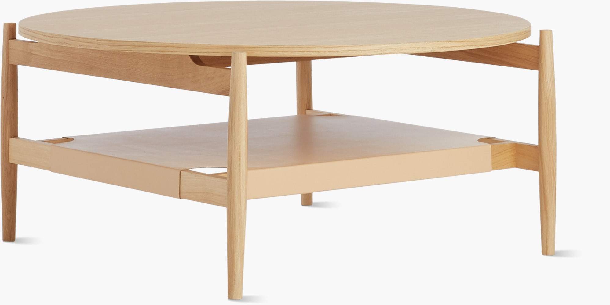 Risom T 300 Round Coffee Table Design Within Reach