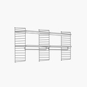 "High - 2 Bays - 32"" Wide Shelves"