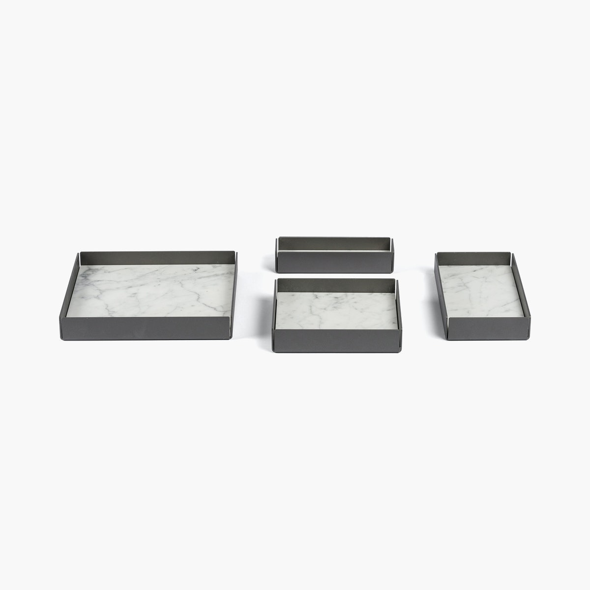 Fontane Bianche Modular Trays-Set of 4