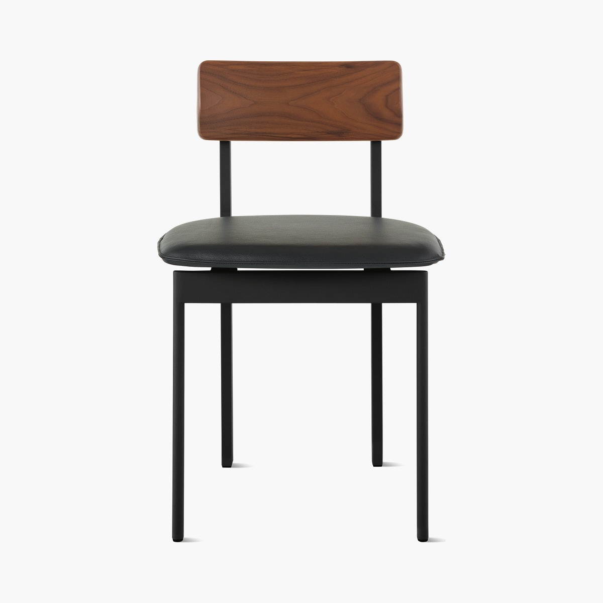 Betwixt Mixed Materials Chair, Side Chair