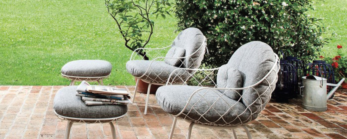 Pina Outdoor Low Chair Lumbar Cushion