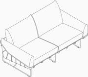 2-Seat Sofa