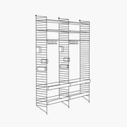 "Chef/Stemware/Sommelier - 2 Bays - 24"" Wide Shelves"