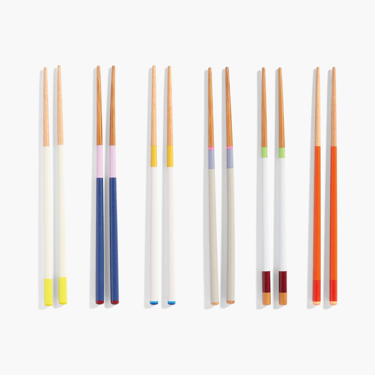 Colour Sticks, Set of 6 Pairs