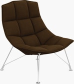 Jehs and Laub Lounge Chair,  Wire Base