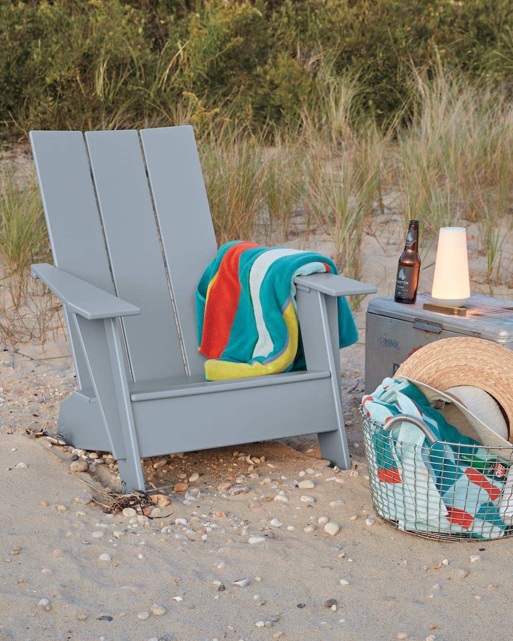 Adirondack Chair Standard on Beach