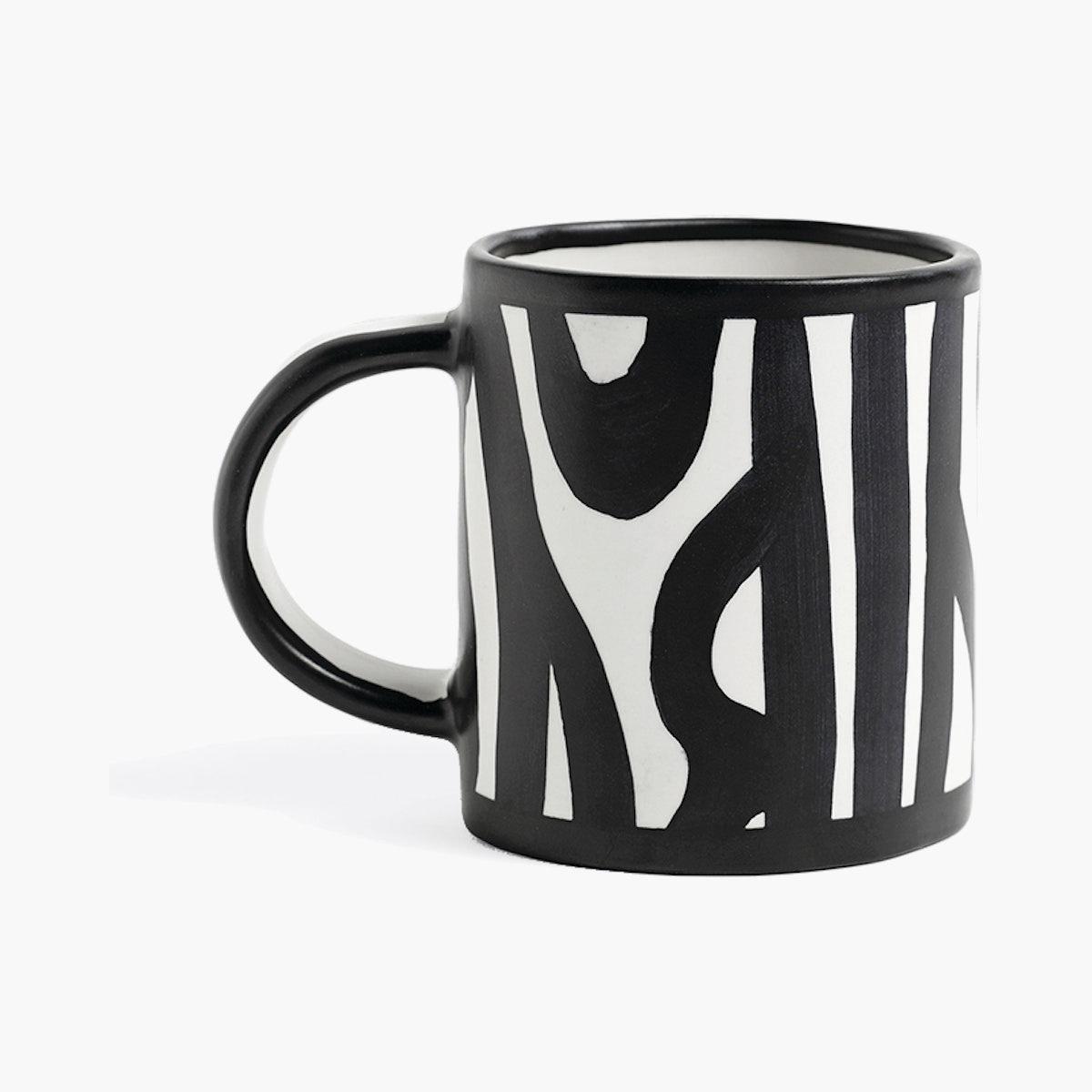 HAY Wood Mug, White