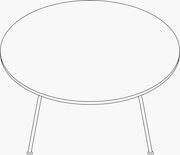 Coffee Table Metal Base